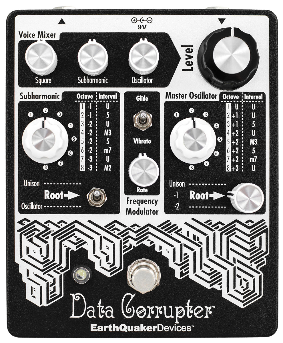 EarthQuaker Devices / Data Corrupter モジュレーションハーモナイザー
