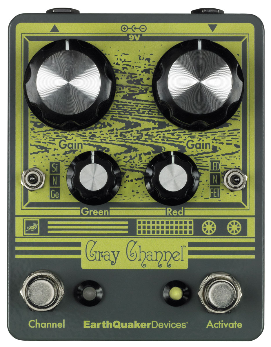 EarthQuaker Devices / Gray Channel オーバードライブ