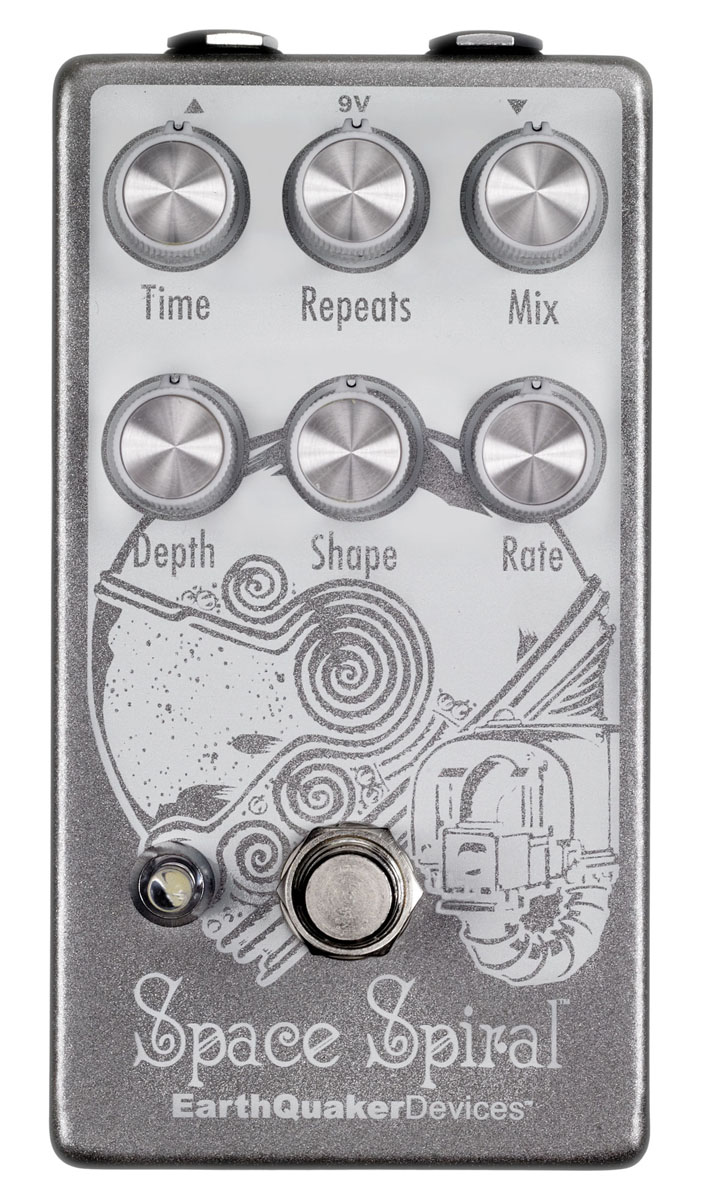 EarthQuaker Devices / Space Spiral モジュレーション ディレイ