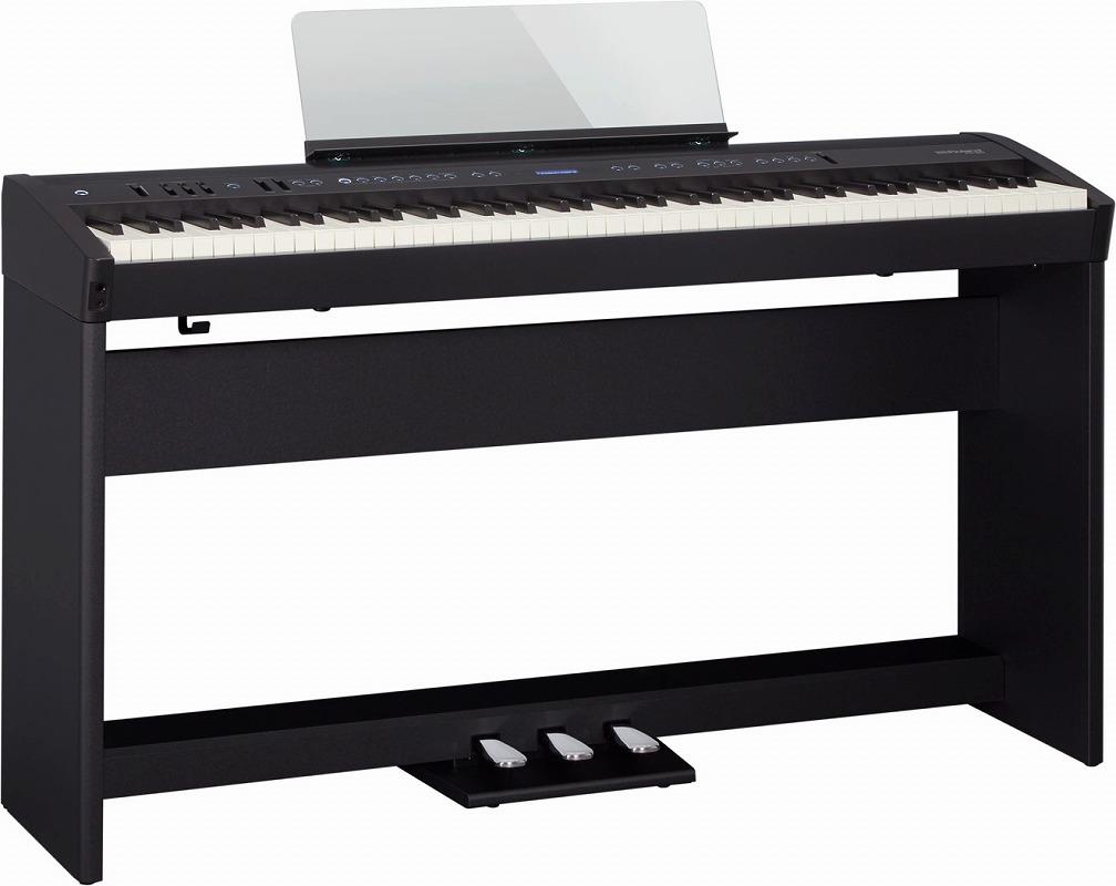 Roland ローランド / FP-60 BLACK 【スタンド&3本ペダルセット!】電子ピアノ(FP60)(FP-60-BK)【全国組立設置無料】【代引き不可】【YRK】【PTNB】【お手入れセットプレゼント:set78331】