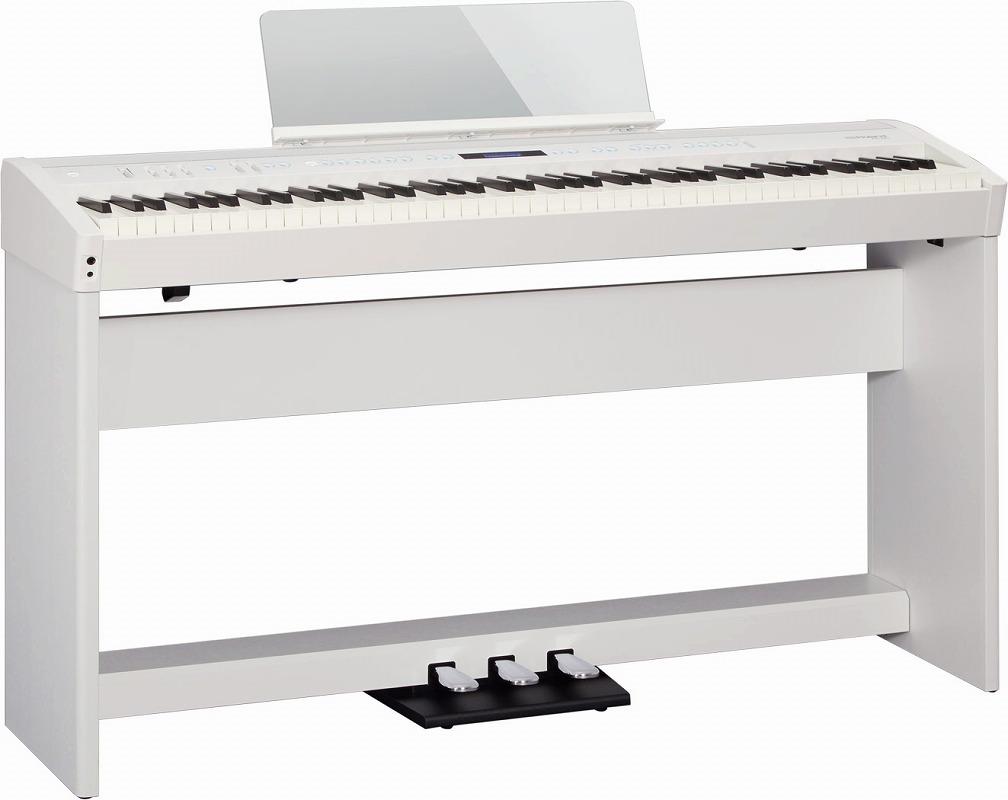 Roland ローランド / FP-60 WHITE 【スタンド&3本ペダルセット!】電子ピアノ(FP60)(FP-60-WH)【全国組立設置無料】【代引き不可】【YRK】【PTNB】
