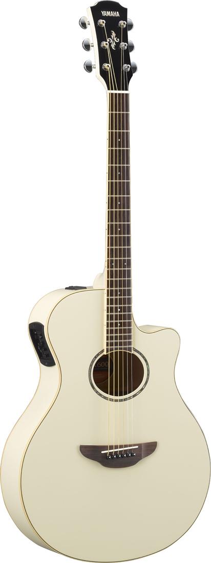 YAMAHA / APX600 VW (Vintage White) ヤマハ アコースティックギター エレアコ APX-600VW 《ソフトケース付属/+811175900》【YRK】