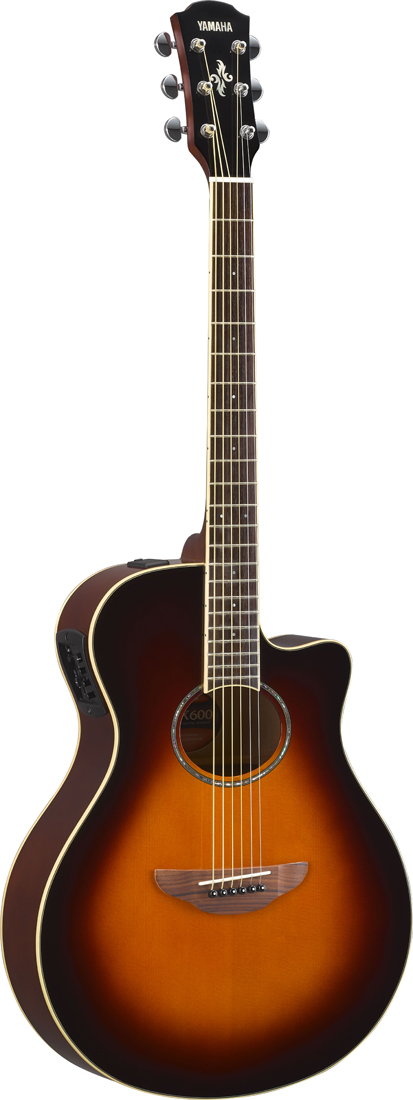 【在庫有り】 YAMAHA / APX600 OVS (Old Violin Sunburst) 【薄胴エレアコ】 ヤマハ アコースティックギター アコギ エレアコ APX-600OVS 《ソフトケース付属/+811175900》【YRK】《+811182000》