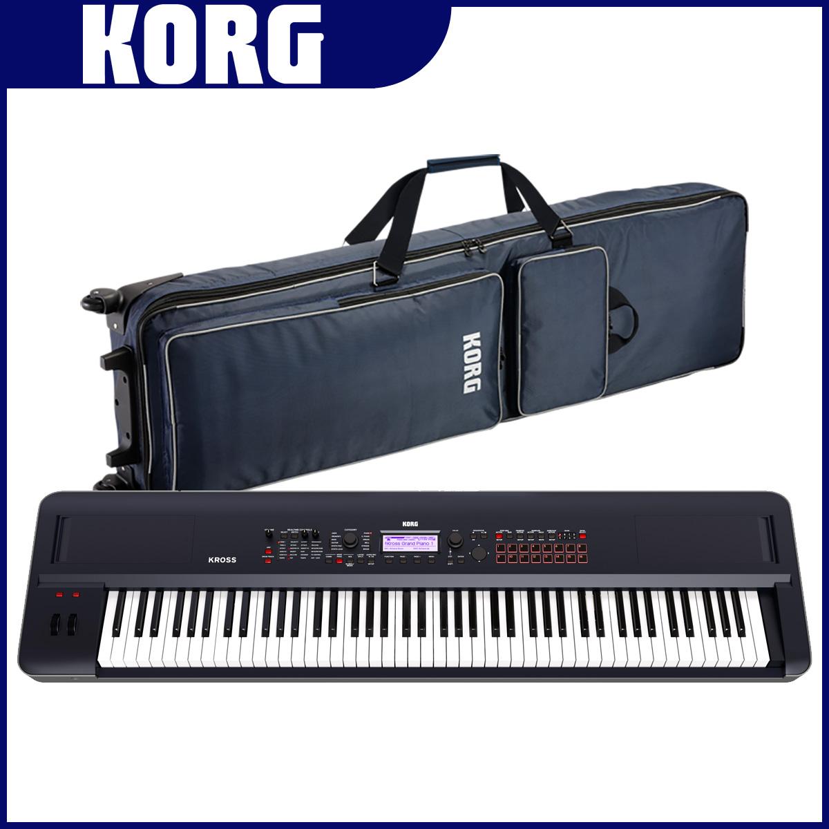KORG コルグ / KROSS2-88 DB 【ケースセット!】ワークステーションシンセサイザー ダークブルー【YRK】