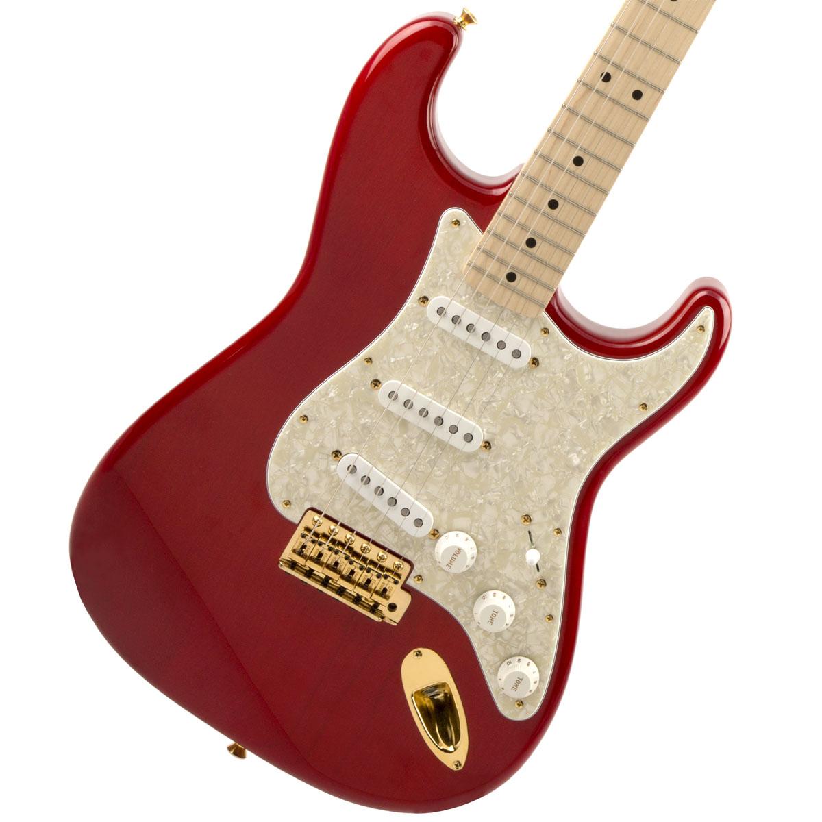 【タイムセール:29日12時まで】Fender / MAMI STRATOCASTER Custom Red フェンダー【新品特価】【YRK】