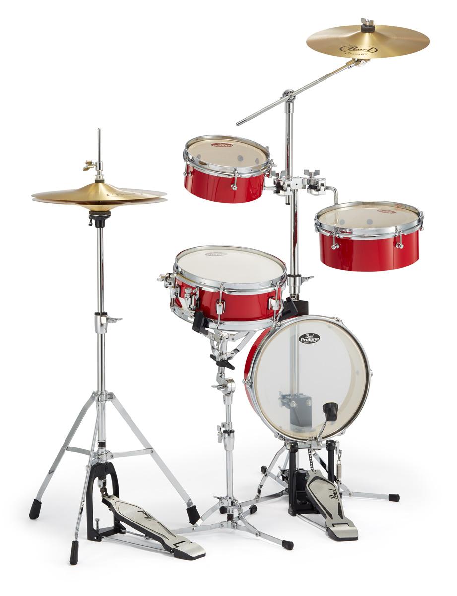 Pearl ドラムセット RT-5124N #94キャンディアップル パール リムトラベラー・ライト