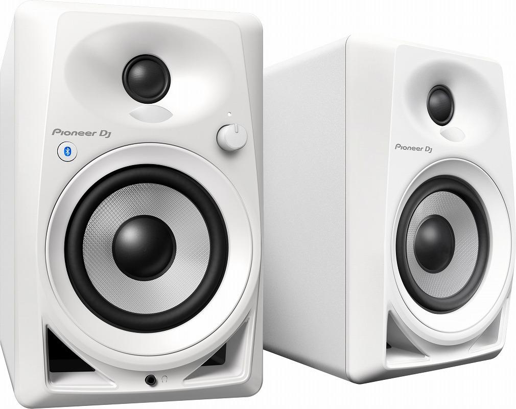 Pioneer DJ パイオニア / DM-40BT W Bluetoothアクティブモニタースピーカー ホワイト