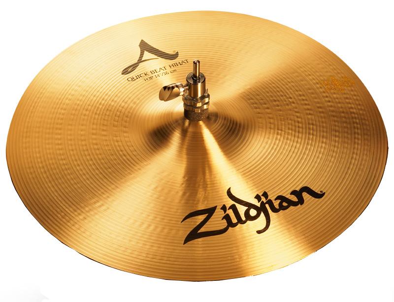 Zildjian / A ZILDJIAN QUICK BEAT HIHAT 14インチ トップ (1枚) (NAZL14QB.HHT)【YRK】【お取り寄せ商品】