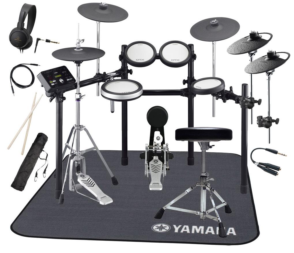 YAMAHA 電子ドラム DTX562KFS 4シンバル拡張 マット付きスターターパック【YRK】