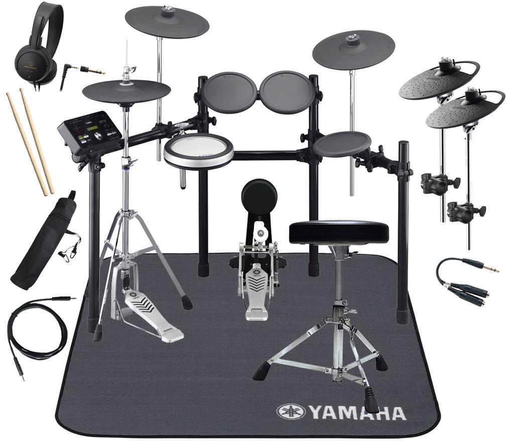 YAMAHA 電子ドラム DTX532KFS 4シンバル拡張 マット付きスターターパック【YRK】