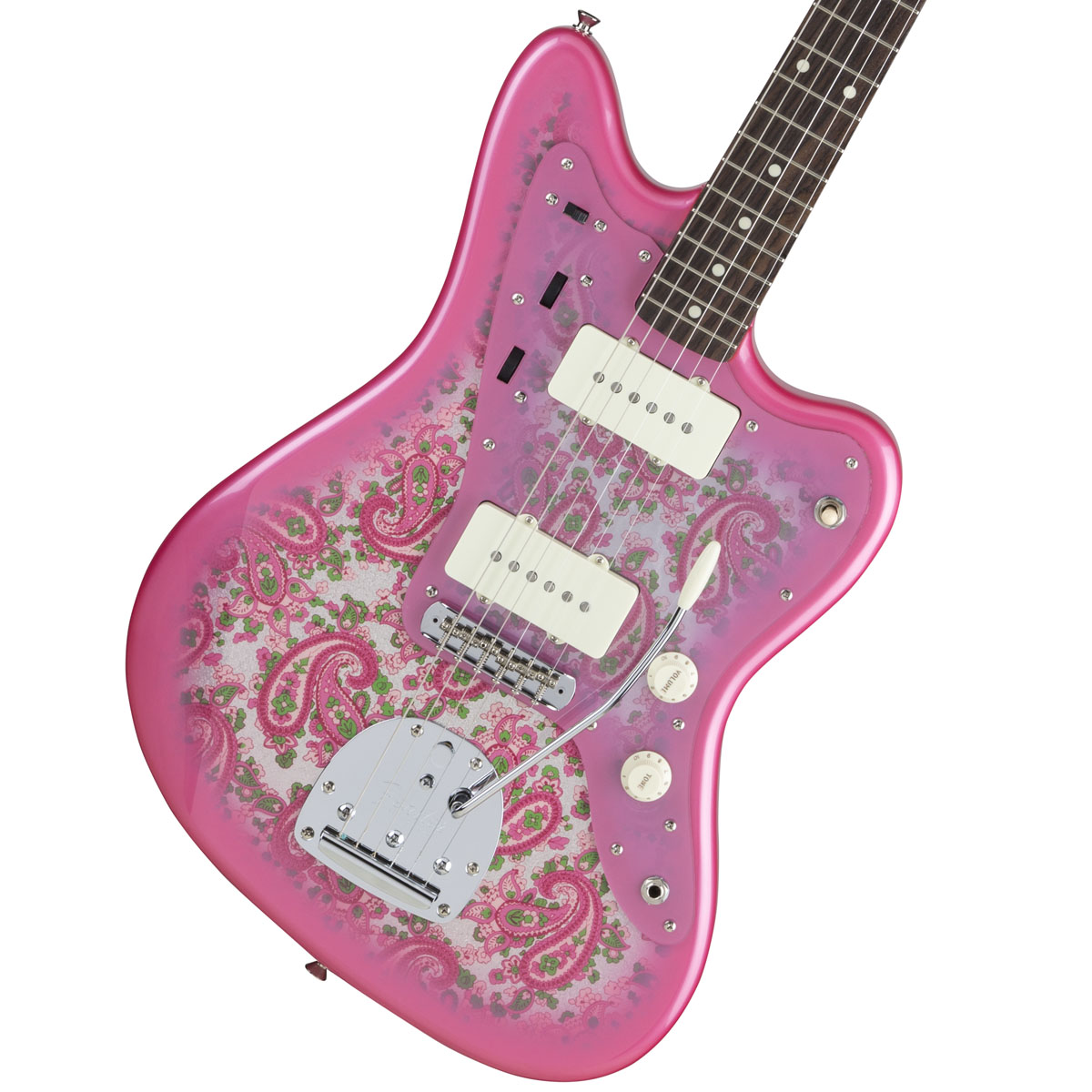 Fender / Made in Japan Traditional 60s Jazzmaster Rosewood Fingerboard Pink Paisley 《カスタムショップのお手入れ用品を進呈/+671038200》