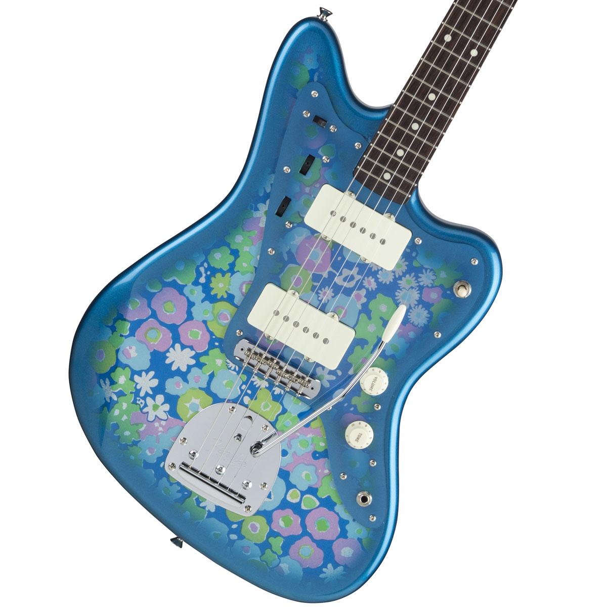 【タイムセール:7月2日12時まで】Fender / Made in Japan Traditional 60s Jazzmaster Rosewood Fingerboard Blue Flower 《カスタムショップのお手入れ用品を進呈/+671038200》