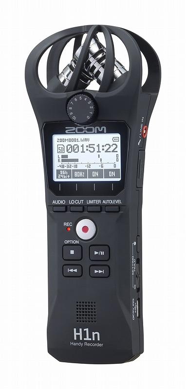 ZOOM ズーム / H1n ハンディレコーダー