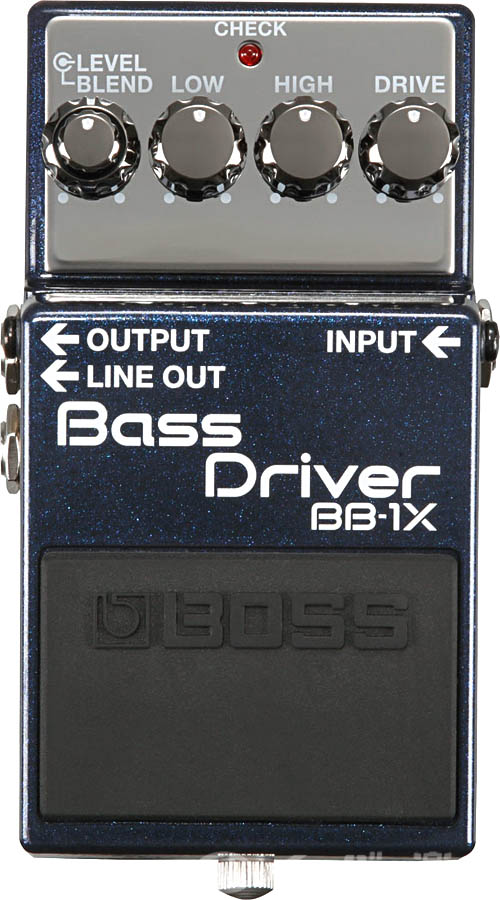 BOSS / BB-1X BASS DRIVER【YRK】《9Vマンガン電池2個プレゼント!/+681215700×2》