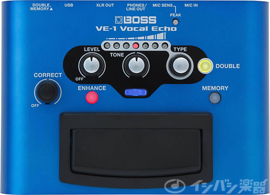 BOSS ボス / VE-1 VOCAL ECHO 【WEBSHOP】【YRK】