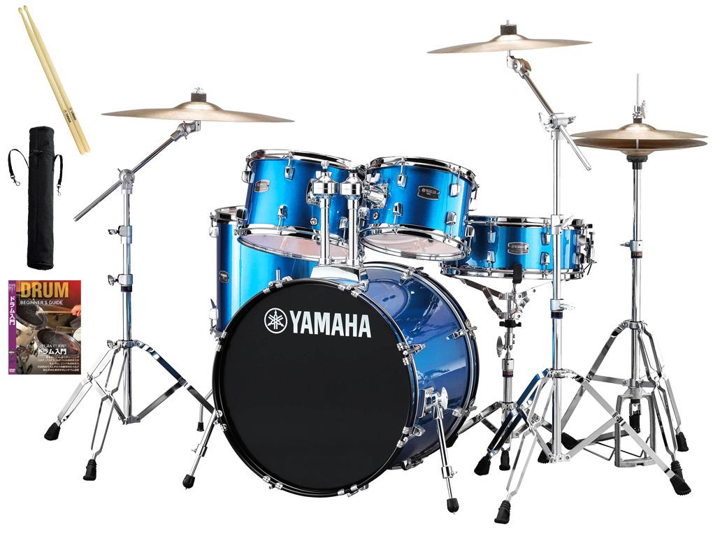 YAMAHA / RDP0F5STD FBファインブルー ヤマハ ライディーン 20BD ドラムセット シンバル付きフルセット【YRK】