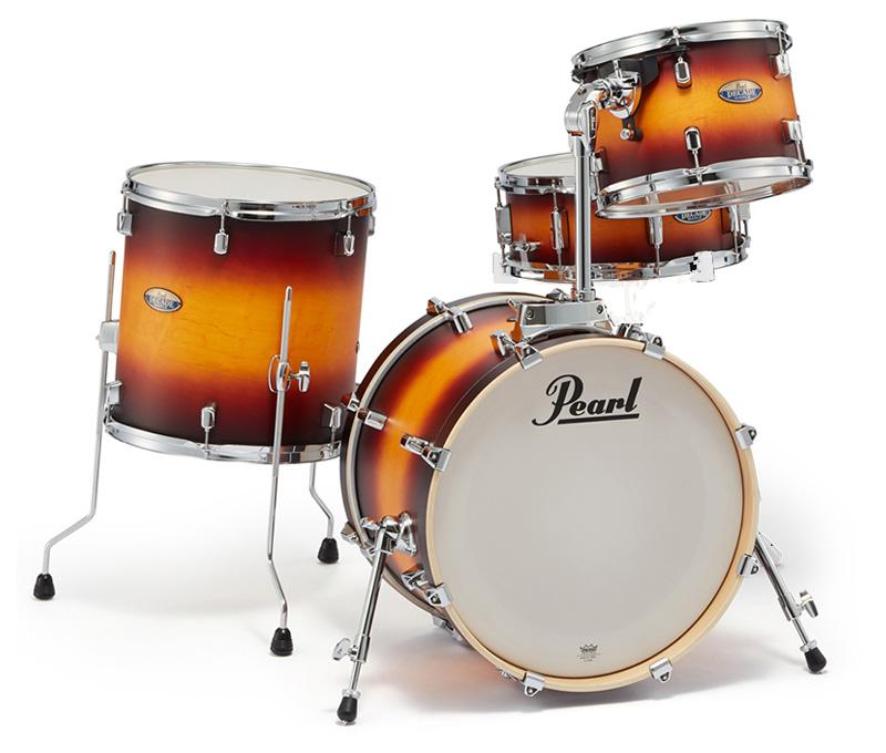 Pearl ドラムシェルキット DMP984P/C 225-Classic Satin Amburst パール DECADE Maple BOP CLUB KIT 18BD【お取り寄せ商品】