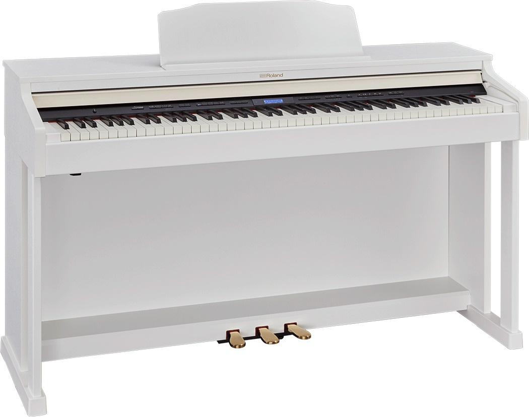 Roland / HP601 WHS ホワイト 電子ピアノ(HP-601)(HP601-WHS)【全国組立設置無料】【代引き不可】【YRK】【PTNB】