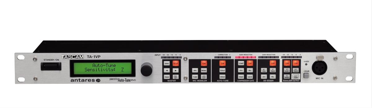 TASCAM タスカム / TA-1VP ボーカルプロセッサー/マイクプリアンプ【お取り寄せ商品】