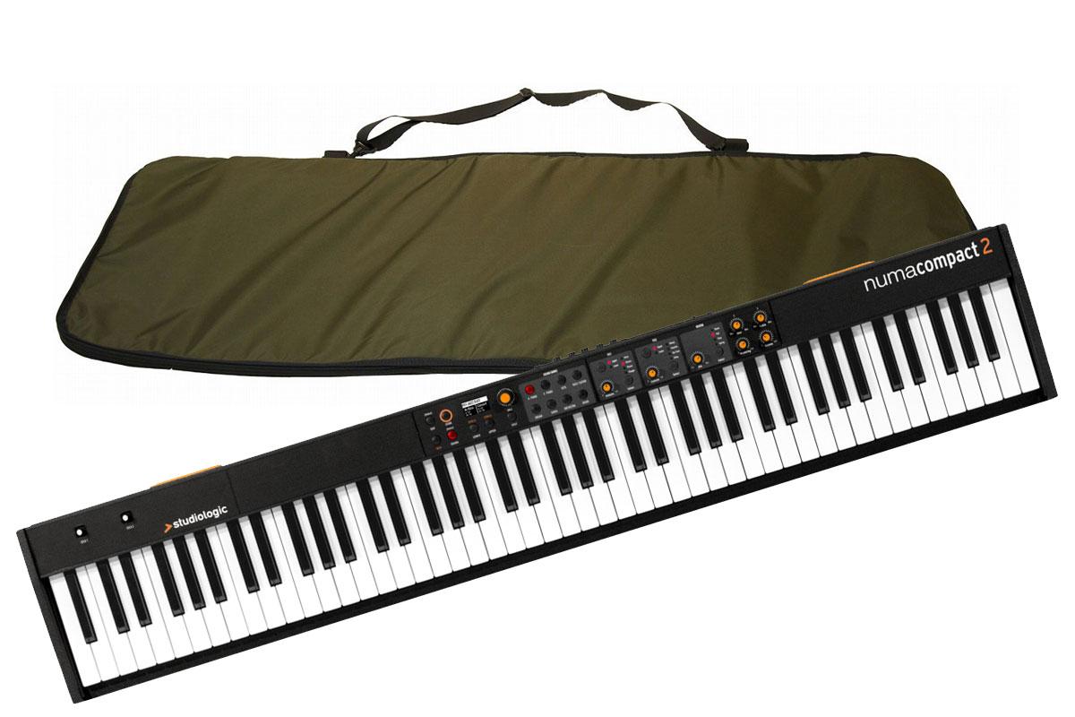 Studiologic スタジオロジック / Numa Compact 2 【日本製純正ソフトケースセット】 ステージ・ピアノ