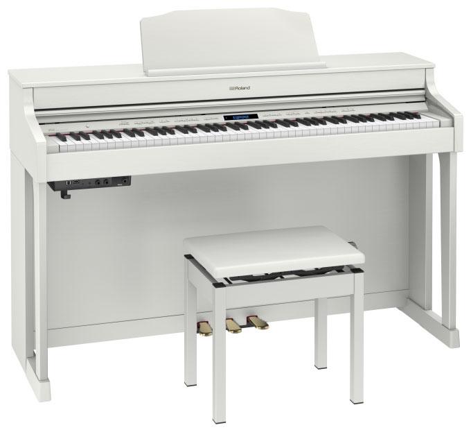 Roland ローランド / HP603 AWHS ホワイト 電子ピアノ(HP-603A)(HP603-AWHS)【全国組立設置無料】【代引き不可】【YRK】【PTNB】《予約注文/8月下旬入荷予定》