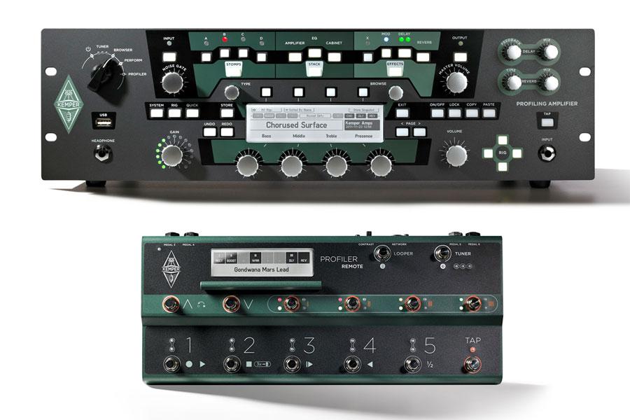 【タイムセール:7月2日12時まで】Kemper / Profiler Rack + Profiler Remote セット【YRK】
