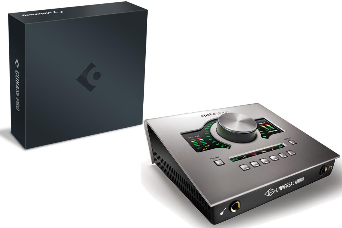 Steinberg / Cubase Pro 9.5 × Universal Audio / Apollo Twin USB 【DAWセット】