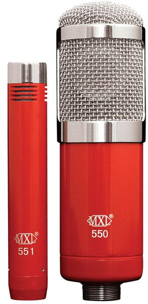 MXL エムエックスエル / MXL550/551 コンデンサーマイク【お取り寄せ商品】