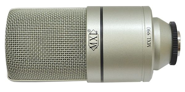 MXL エムエックスエル / 990 コンデンサーマイク【お取り寄せ商品】