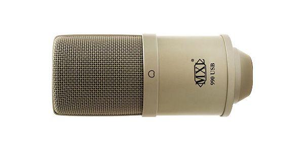 MXL エムエックスエル / 990USB USBコンデンサーマイク【お取り寄せ商品】