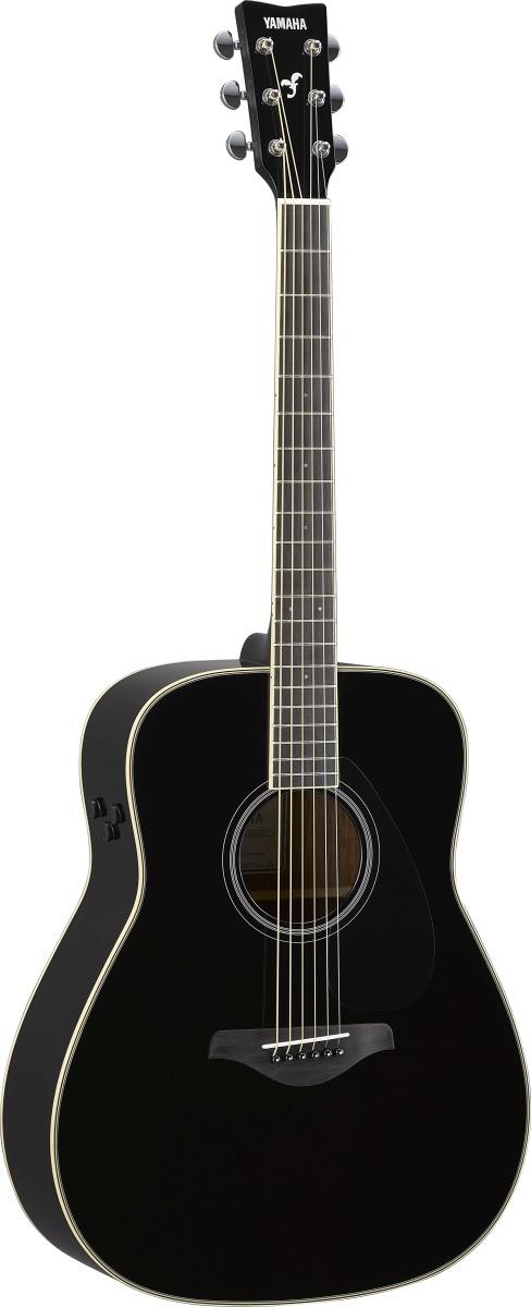 人気の YAMAHA / FG-TA Black (BL) ヤマハ アコースティックギター FGTA 【Trans Acoustic】《+811022700》【YRK】, function junction eff7d24f