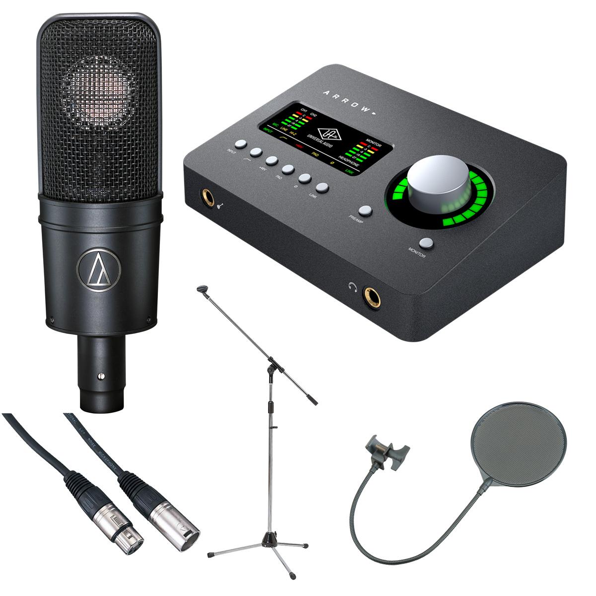 Universal Audio ユニバーサルオーディオ / Arrow 【AT4040マイクセット】 UAD-2 DSP搭載オーディオインターフェース