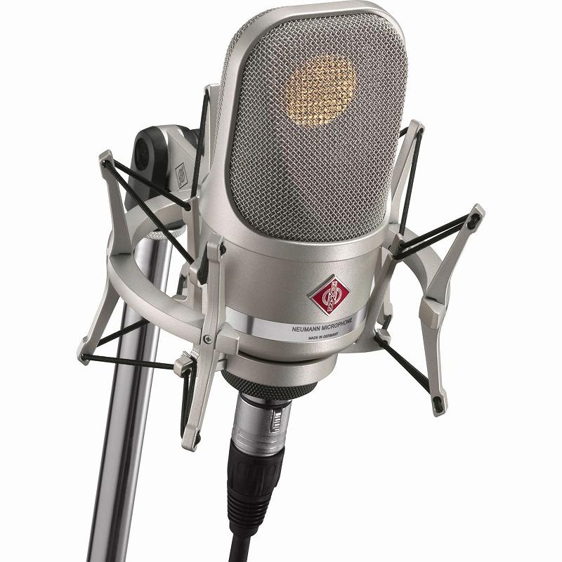 NEUMANN ノイマン / TLM107 studio set ニッケル コンデンサーマイク 【お取り寄せ商品】
