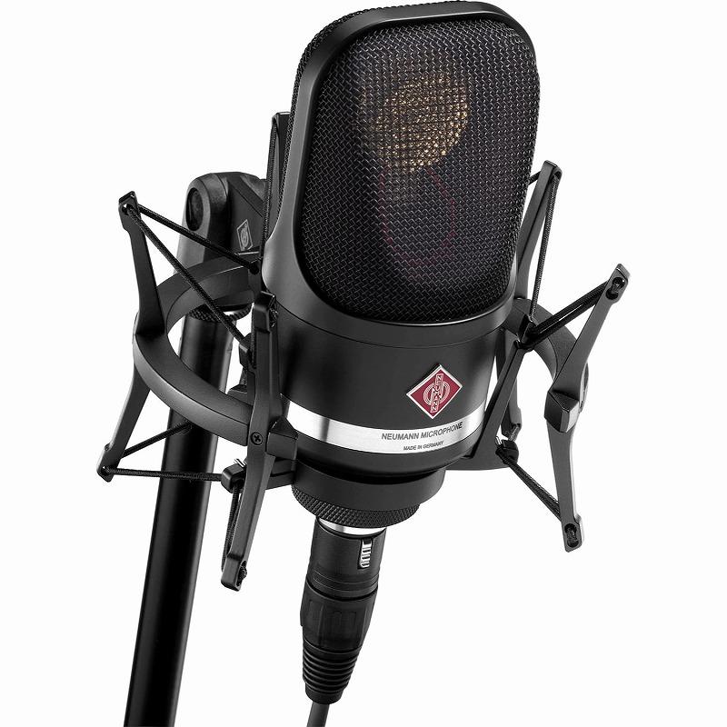 NEUMANN ノイマン / TLM107 BK studio set ブラック コンデンサーマイク 【お取り寄せ商品】