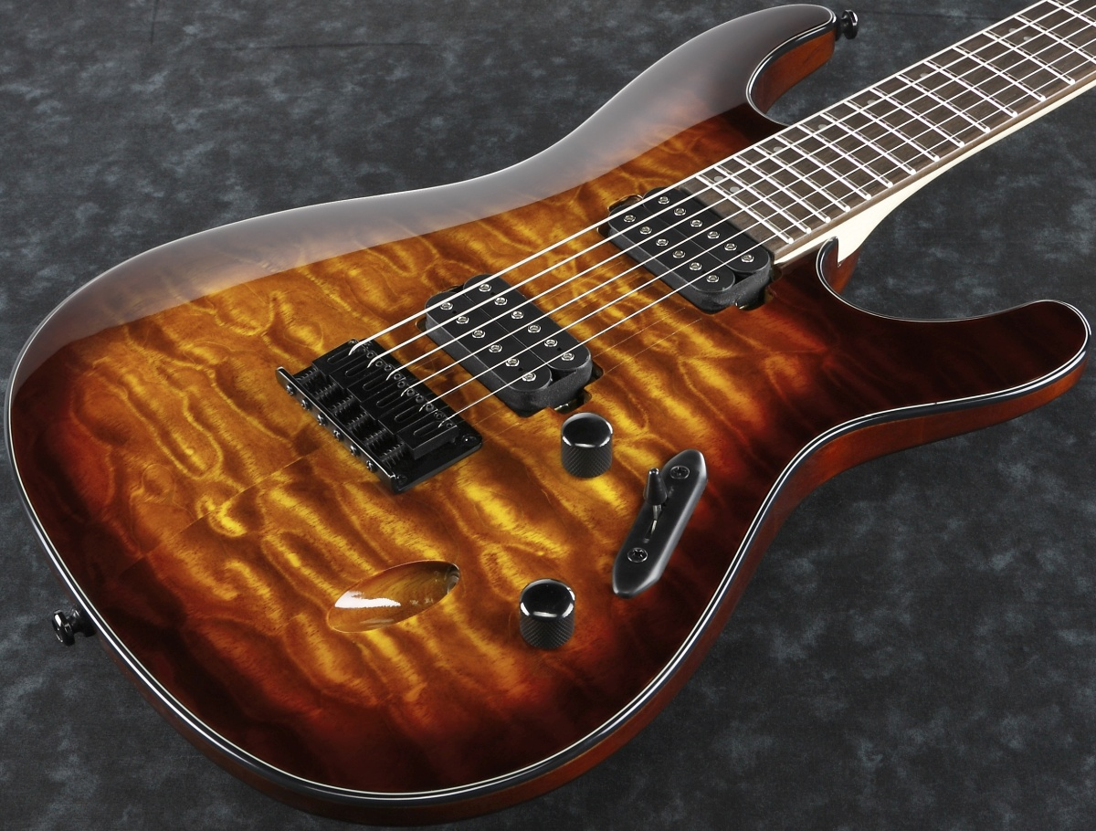 Ibanez / S621QM-DEB (Dragon Eye Burst) アイバニーズ