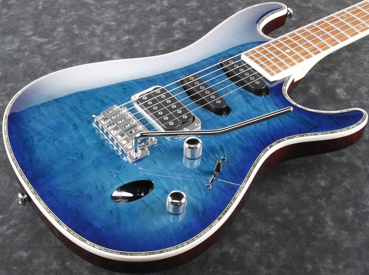 Ibanez / SA460QM-SPB (Sapphire Blue) アイバニーズ