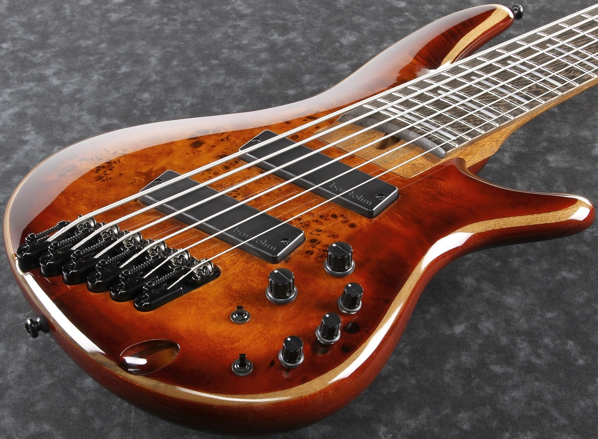 Ibanez / SRMS806-BTT (Brown Topaz Burst) アイバニーズ【6弦ベース】