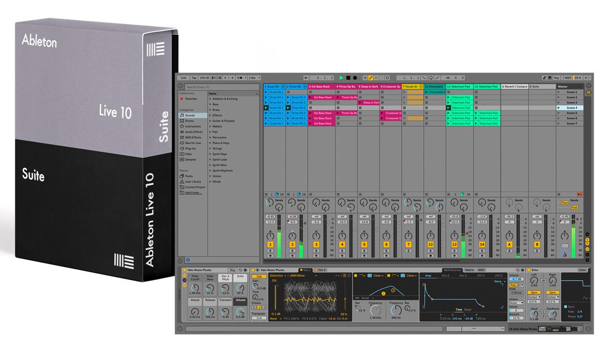 Ableton エイブルトン / Live 10 Suite 通常版 DAWソフトウェア