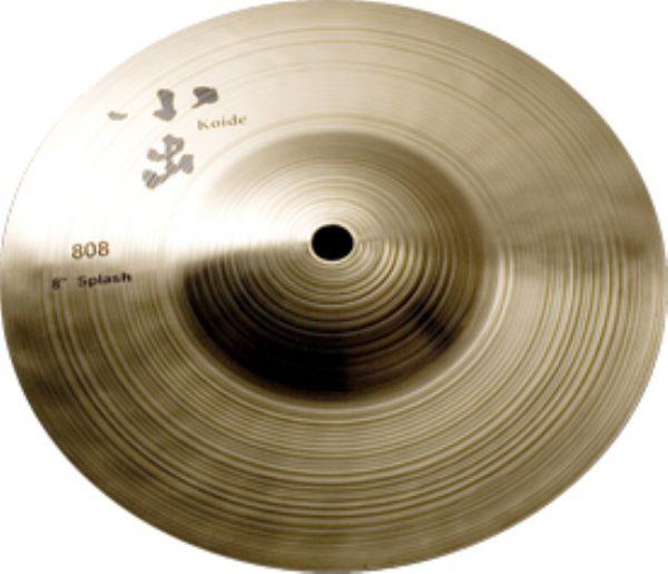小出シンバル / 808-8 SPLASH【スプラッシュ】【8インチ】【お取り寄せ商品】