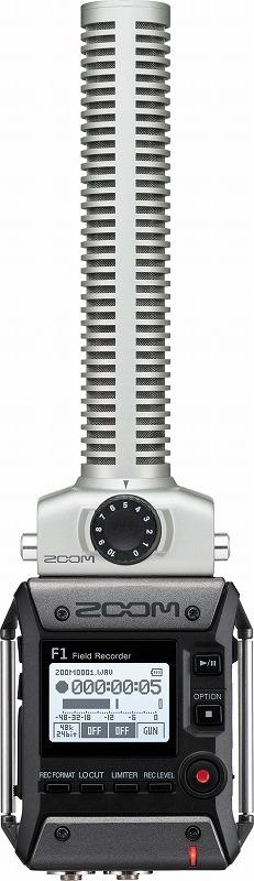 ZOOM ズーム / F1-SP フィールドレコーダー・ショットガンマイク【お取り寄せ商品】