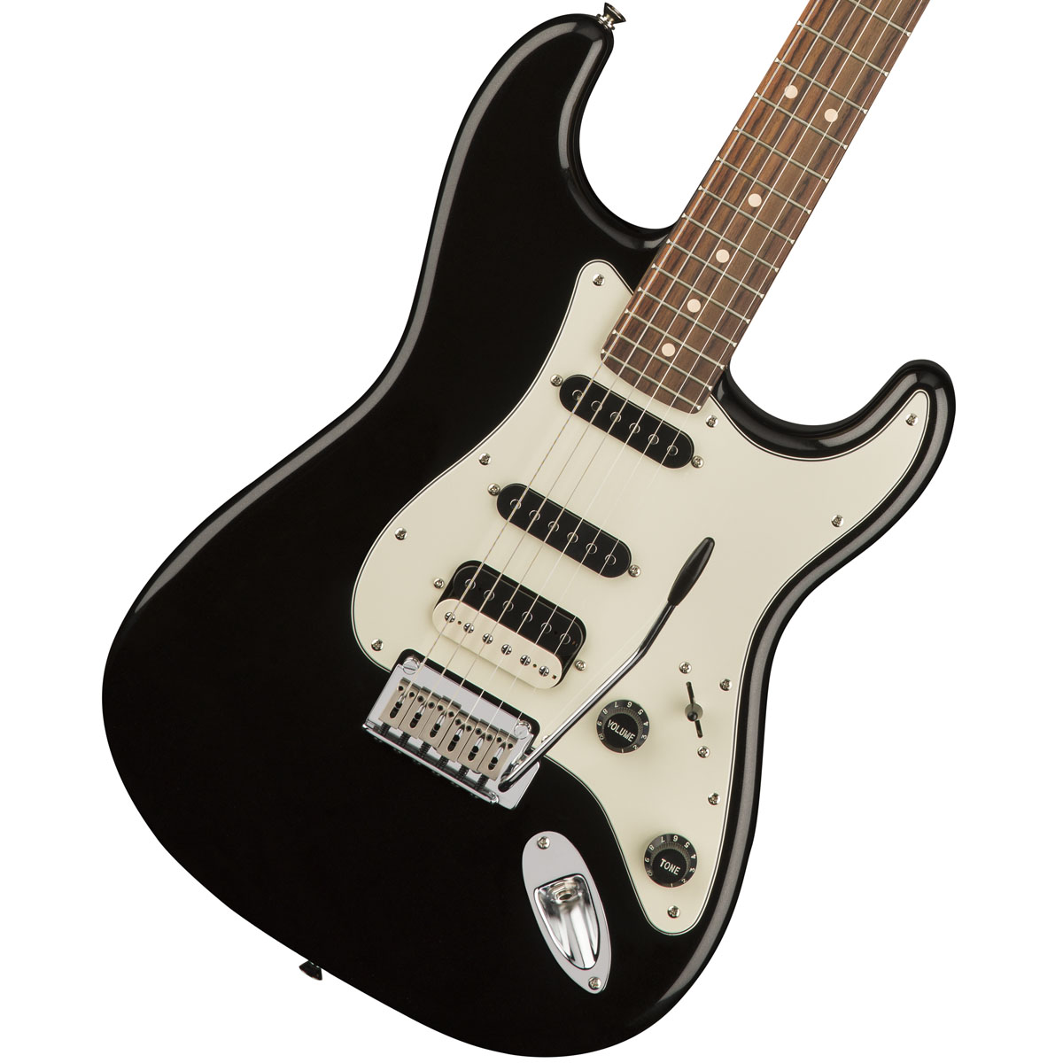 Squier by Fender / Contemporary Stratocaster HSS Black Metallic Rosewood