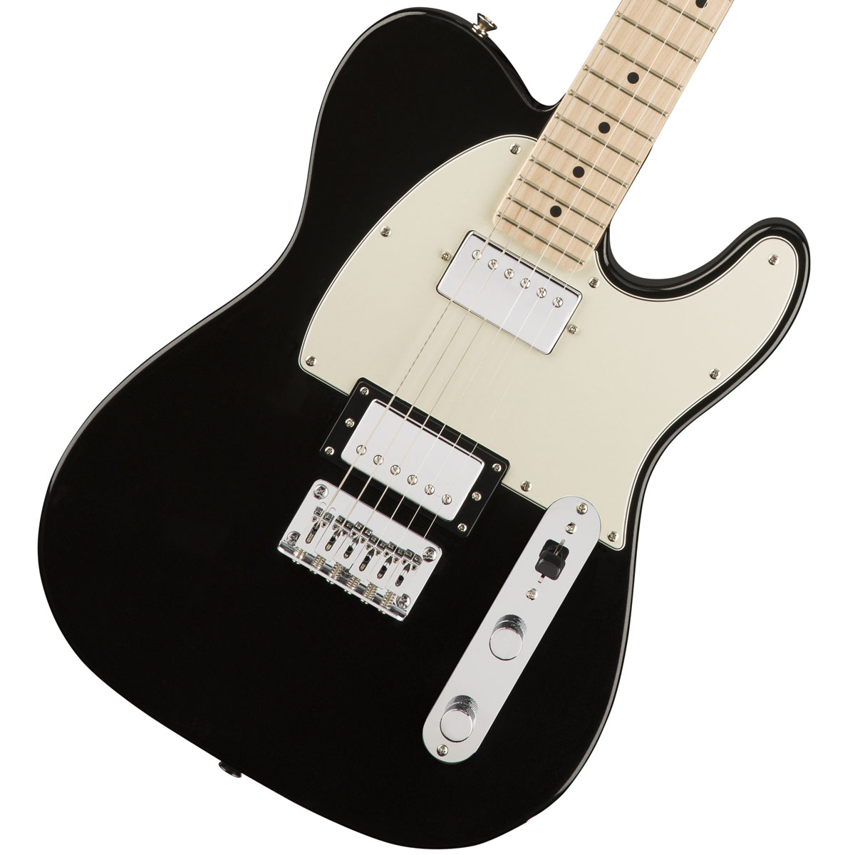 Squier by Fender / Contemporary Telecaster HH Black Metallic Maple