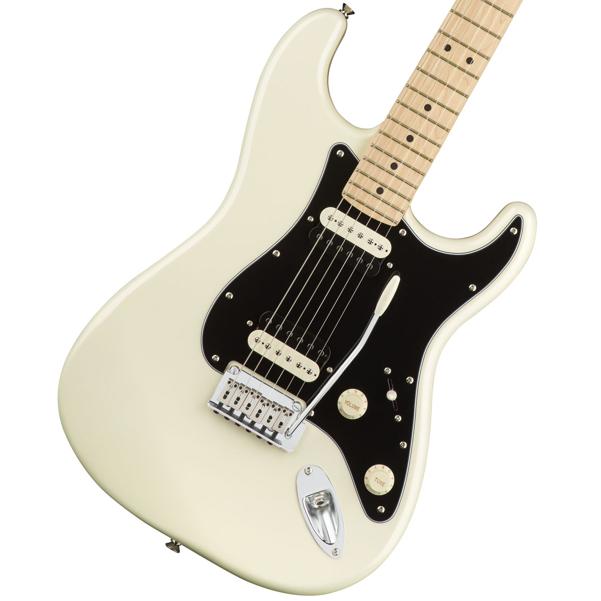 Squier by Fender / Contemporary Stratocaster HH Pearl White Maple