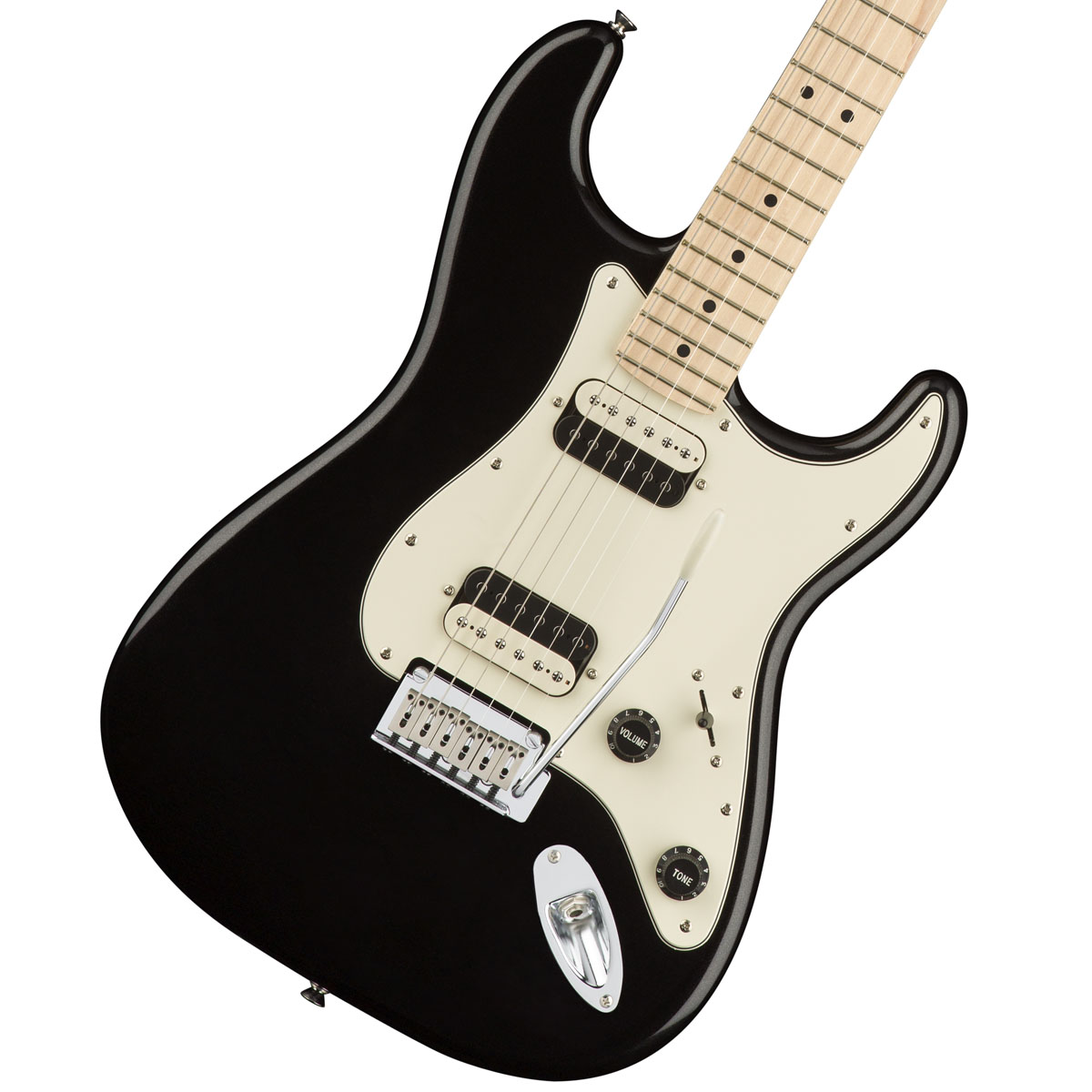 Squier by Fender / Contemporary Stratocaster HH Black Metallic Maple