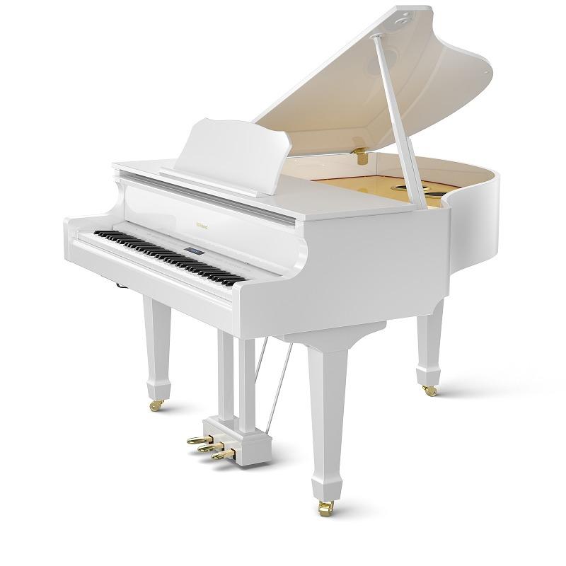 Roland ローランド / GP609 PWS 白塗鏡面艶出し塗装仕上げ 電子ピアノ (GP-GP609)(GP609-PWS)【全国組立設置無料】【代引き不可】【YRK】【PTNB】《予約注文/2019年1月以降予定》