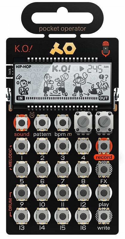 Teenage Engineering ティーンエイジエンジニアリング / POCKET OPERATOR PO-33 K.O! マイクロ・サンプラー
