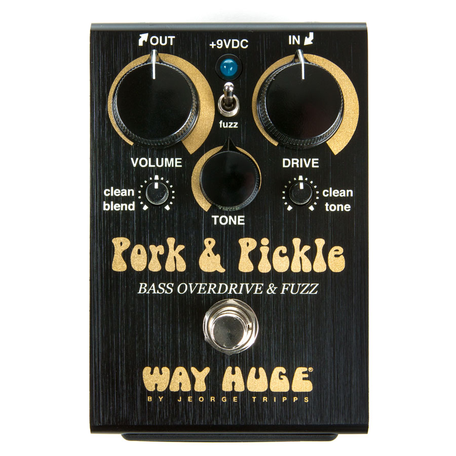 WAYHUGE / WHE214 Pork and Pickel BASS OVERDRIVE & FUZZ【お取り寄せ商品】