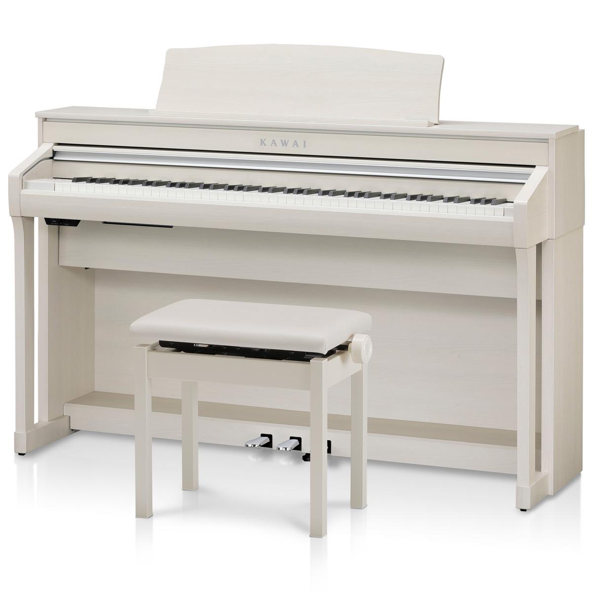 KAWAI カワイ / CA58A プレミアムホワイトメール調仕上げ 電子ピアノ (CA-58)【全国組立設置無料】【代引き不可】