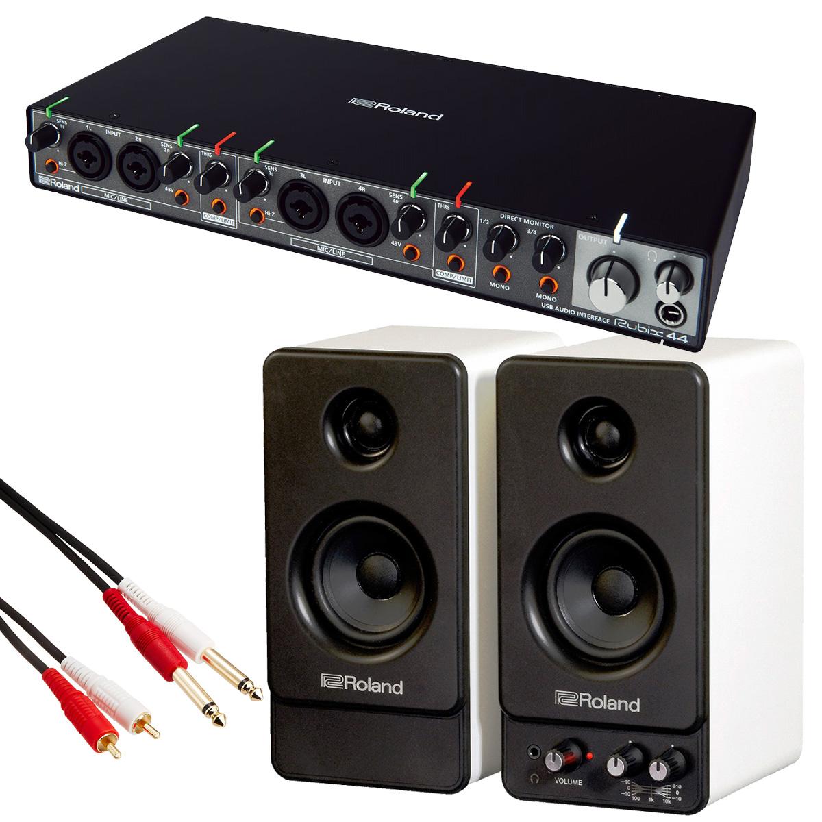 Roland ローランド / Rubix44 【MA-22モニターセット!】USBオーディオ・インターフェース【YRK】
