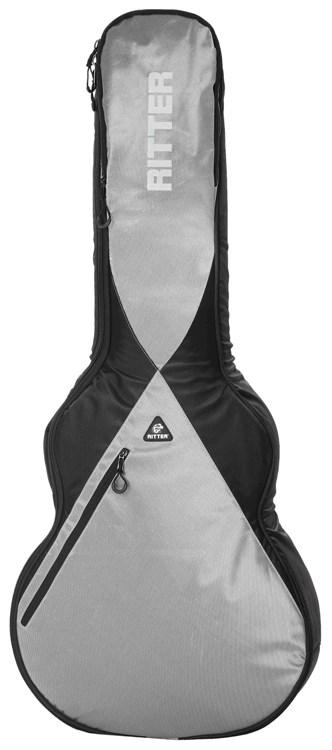RITTER RGP5-SA BSG(Black/Silver Grey) セミアコースティックギター用ケース